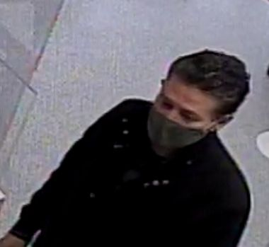 Police are looking for the identity of the man in the CCTV image