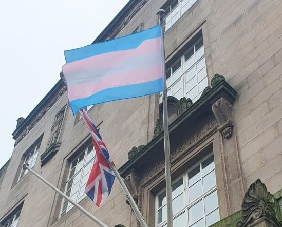 Preston City Council honour trans lives by flying the flag