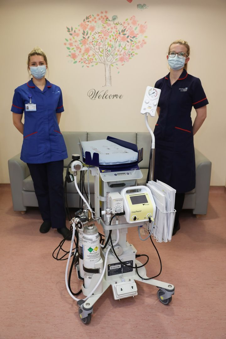 Investment of nearly £50,000 brings improved safety and comfort for mums and babies on Royal Preston Hospital's maternity unit