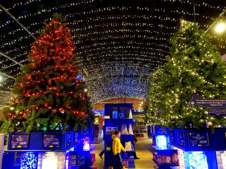 Inside Barton Grange's Christmas display last year Pic: Tony Worrall