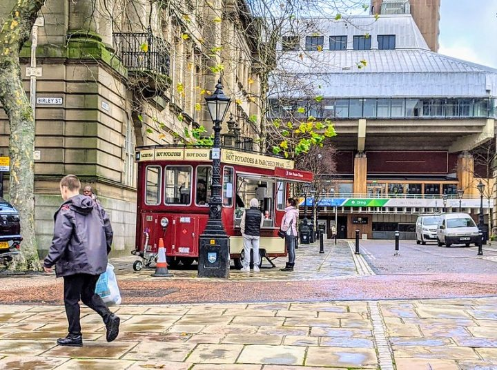 The Hot Potato Tram has reopened. Pic: Tony Worrall Flickr