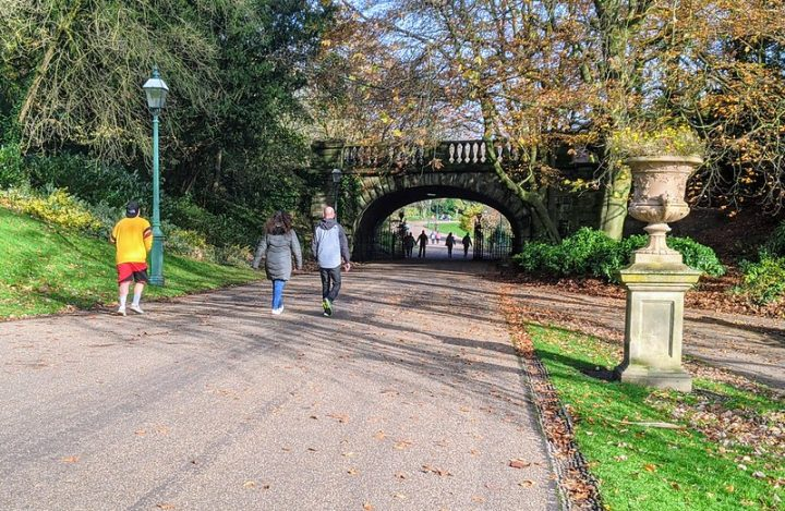 The new restrictions permit exercising outdoors - which has seen Preston's parks get busier since Thursday Pic: Tony Worrall