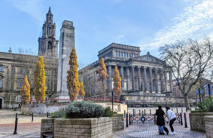 The Harris and Flag Market in Autumn Pic: Tony Worrall