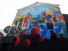 Recent mural on the side of the Northern Way pub Pic: 70023venus2009