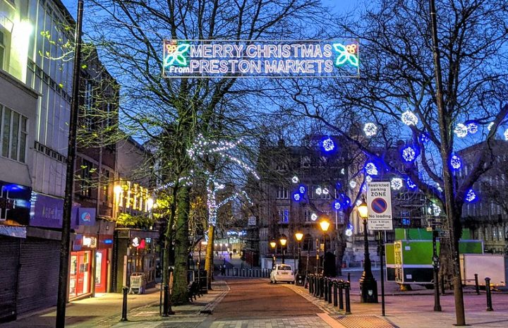 Christmas restrictions were confirmed tonight - with up to three households able to meet indoors Pic: Tony Worrall