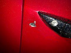 AAA Taxis damaged cab