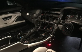 BMW stripped interior Pic: South Ribble Police