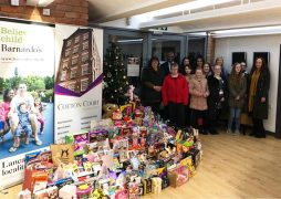 Collection of presents from last year's gift appeal