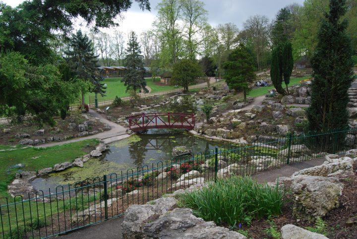 Avenham Park rock garden closed. Pic: Preston Parks