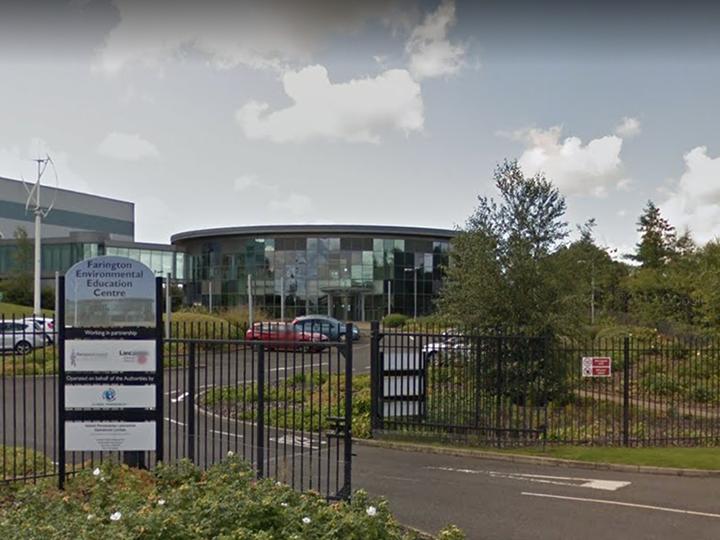 Farington Environmental Education Centre at Lancashire Enterprise Park in Leyland