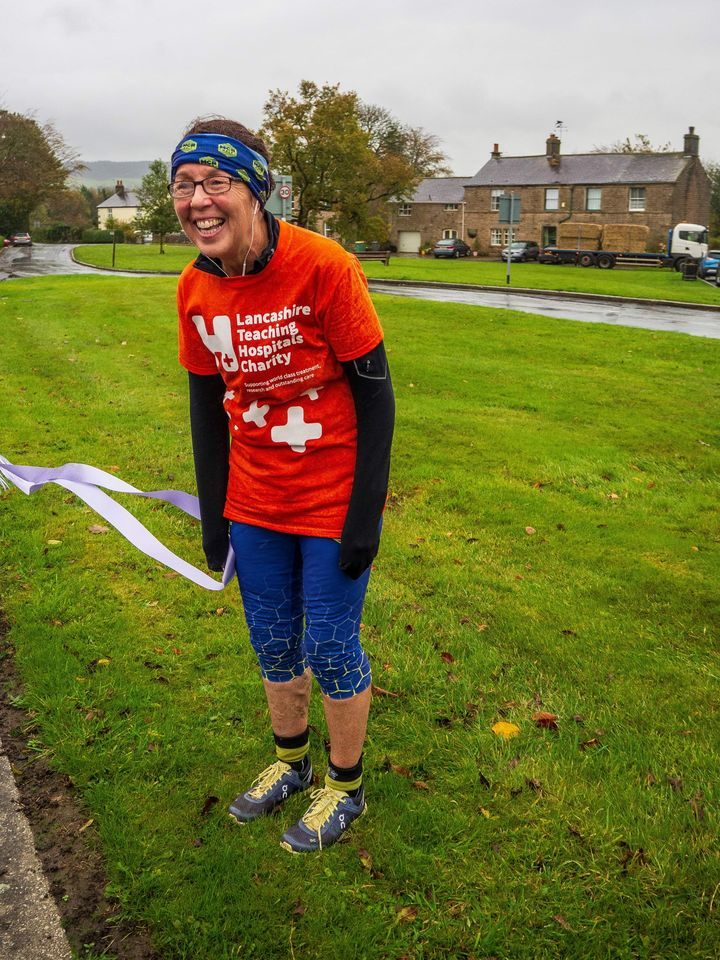 Helen Witter has completed the famous Land's End to John O'Groats challenge to support Royal Preston Hospital's Research team.