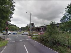 M55 slip road Pic: Google