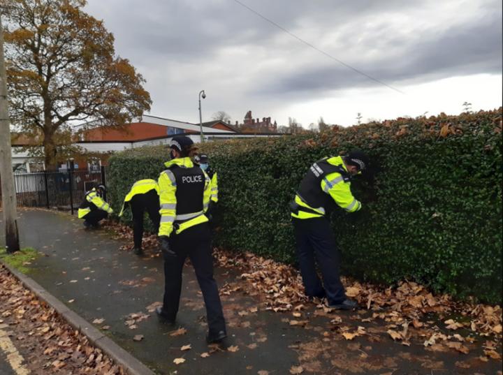 Preston police Operation Sceptre. Pic: Preston police