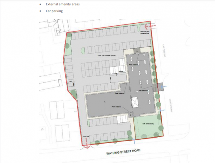 Proposed site plan for new education centre. Pic: Preston City Council