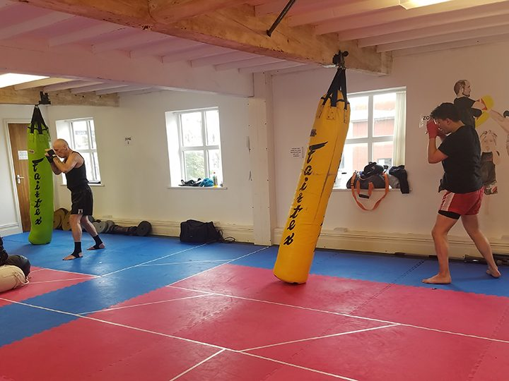 Members training at Red Kite
