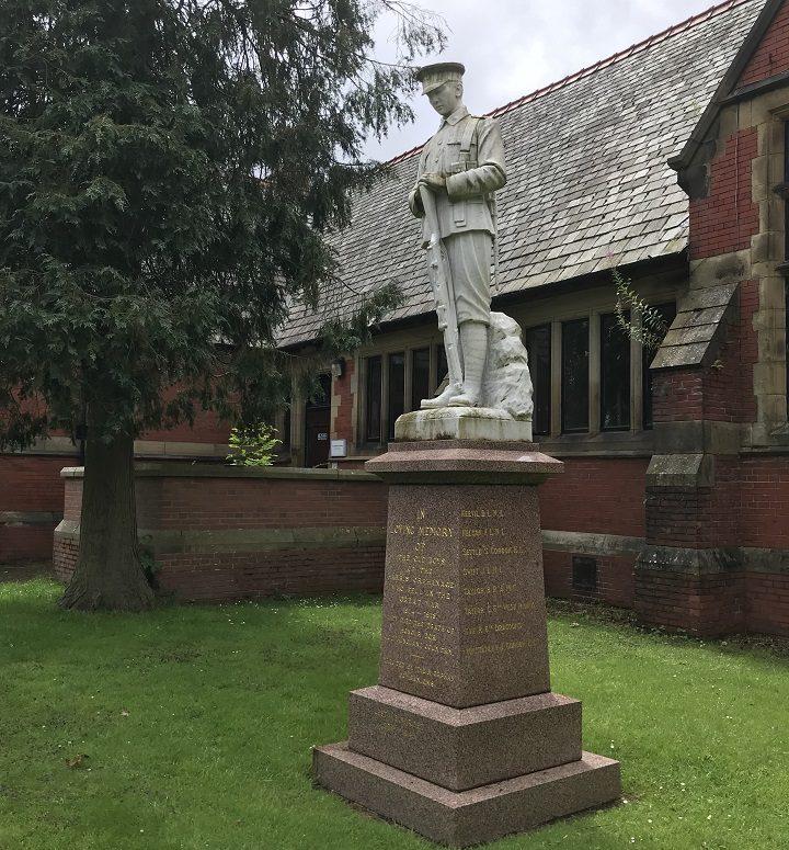 The Fulwood War Memorial in Harris Park
