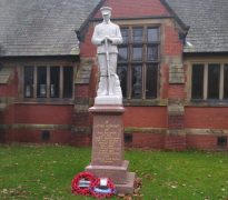Fulwood's war memorial on Remembrance Sunday Pic: Blog Preston