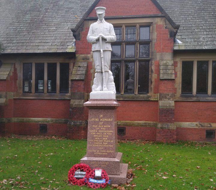 Fulwood's war memorial on Remembrance Sunday Pic: Blog Preston