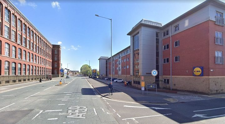 Police were called to Kayley House in the early hours of Sunday morning Pic: Google