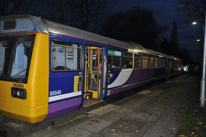 The final pacer train in action Pic: Northern