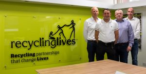 Recycling Lives team. Pic: Recycling Lives