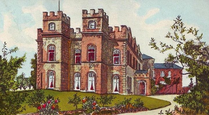A painting of the former Tulketh Hall