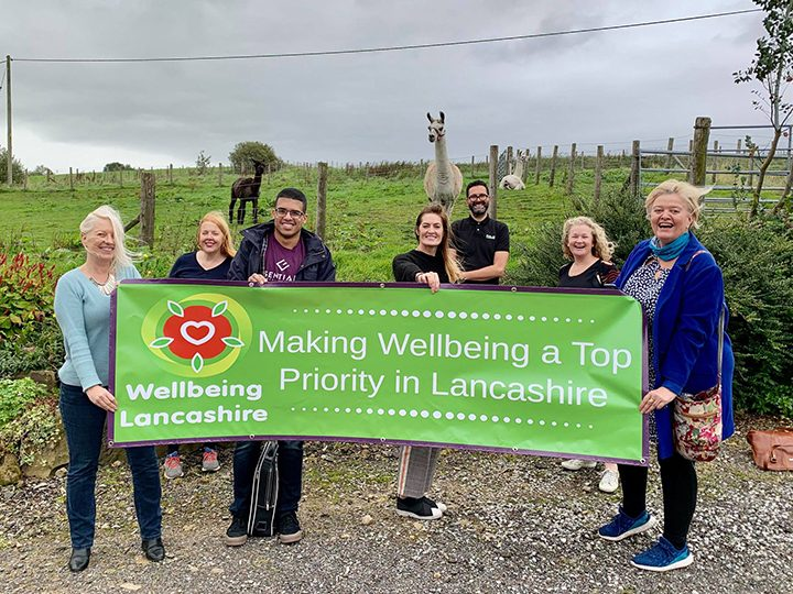 Wellbeing Lancashire team