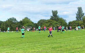 An amateur football game in Preston Pic: Jim Beattie