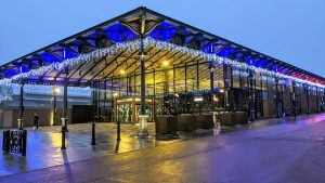 Preston Market Hall can continue to operate under tier-4 restrictions Pic: Tony Worrall