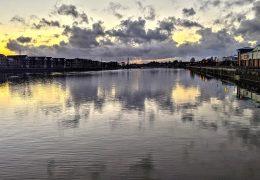 A calm view across Preston Docks Pic: Tony Worrall