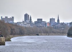 Preston's skyline as viewed from the River Ribble Pic: Tony Worrall
