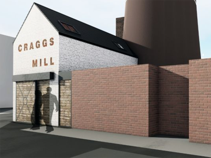 Craggs Mill artist impression