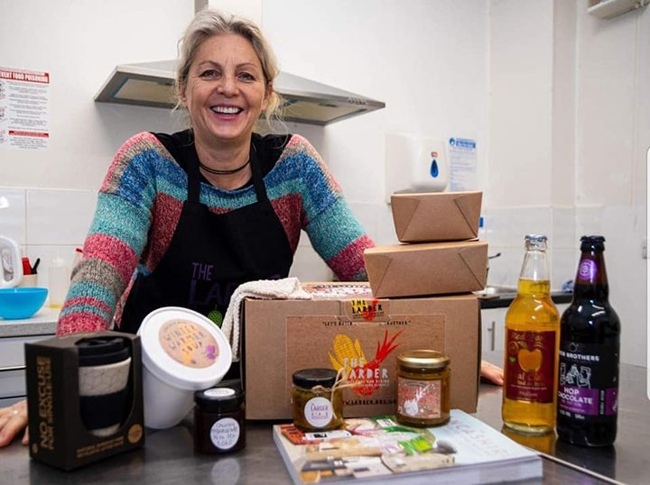 Kay Johnson MBE, founder of The Larder