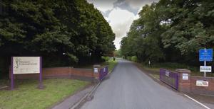 Preston crematorium gates. Pic: Google maps