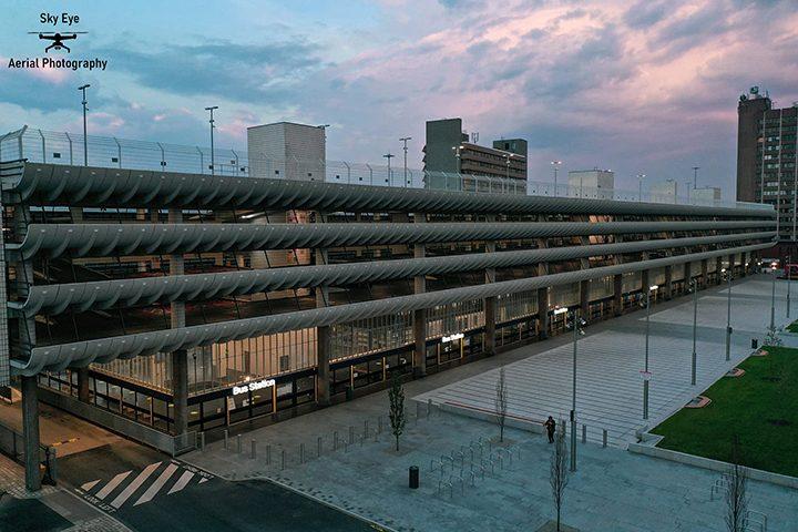 Preston Bus Station Pic: Sky Eye Aerial Photography