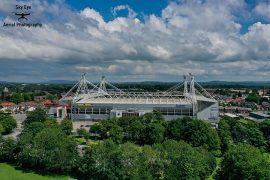 Preston North End's Deepdale Stadium Pic: Sky Eye Aerial Photography