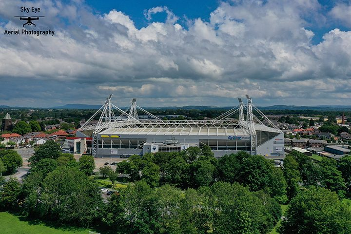 Preston North End's Deepdale Stadium Pic: Sky Eye Aerial Photography