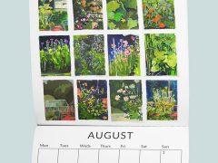 Preston artists calendar - August