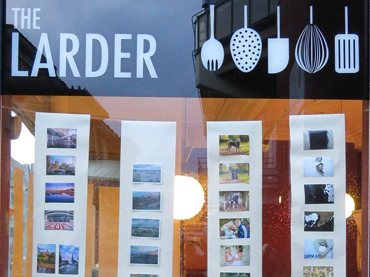 The Preston on a Postcard exhibition at The Larder