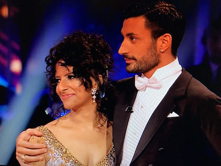 Ranvir and Giovanni after hearing they would be leaving Strictly Pic: BBC