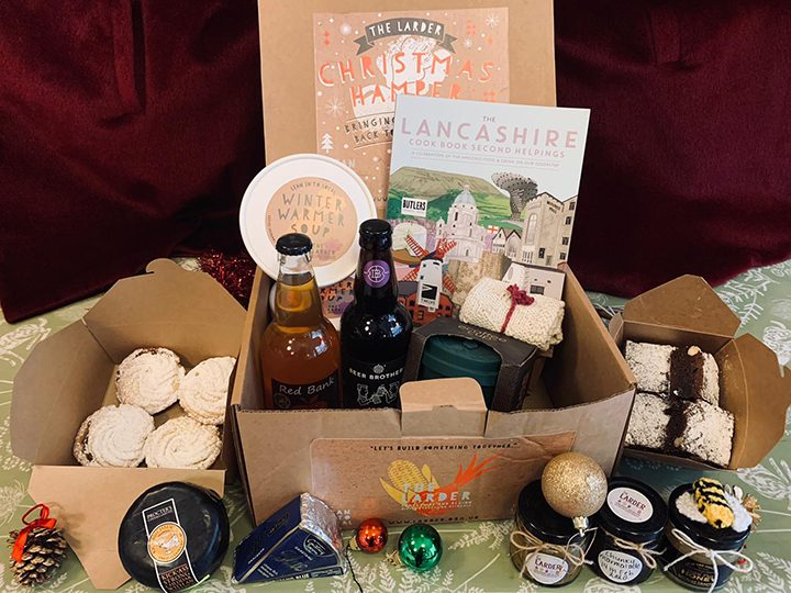 A Christmas hamper from The Larder