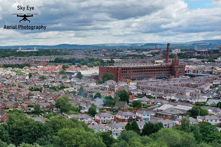 Tulketh Mill and Ashton Pic: Sky Eye Aerial Photography