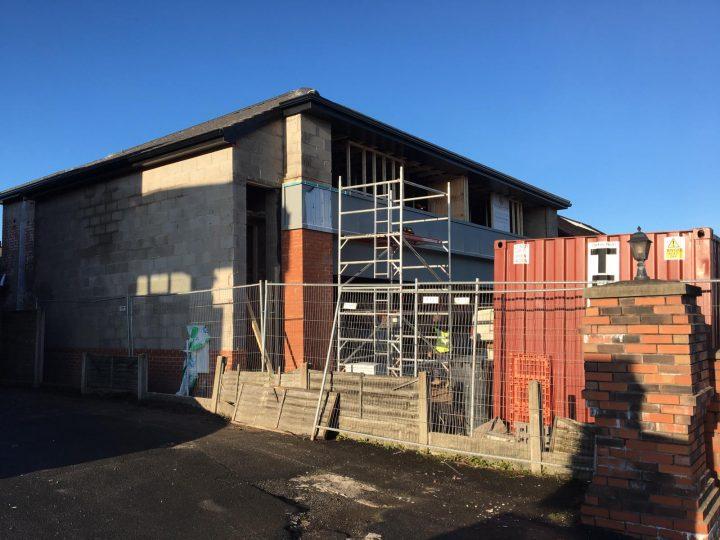 Current development, 327 and 329 Garstang Road. Pic: Blog Preston