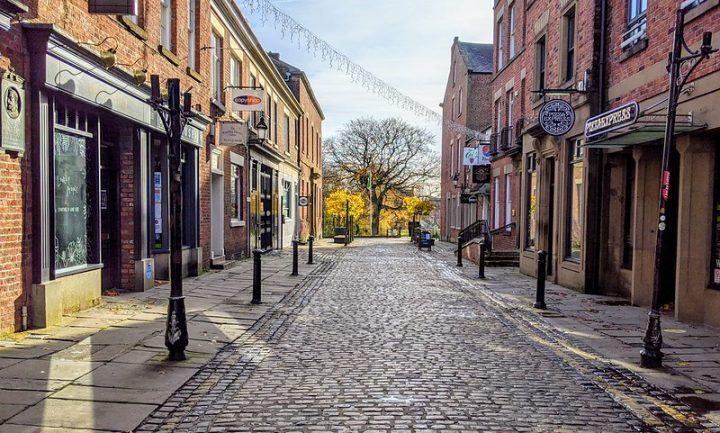 Winckley Street Pic: Tony Worrall