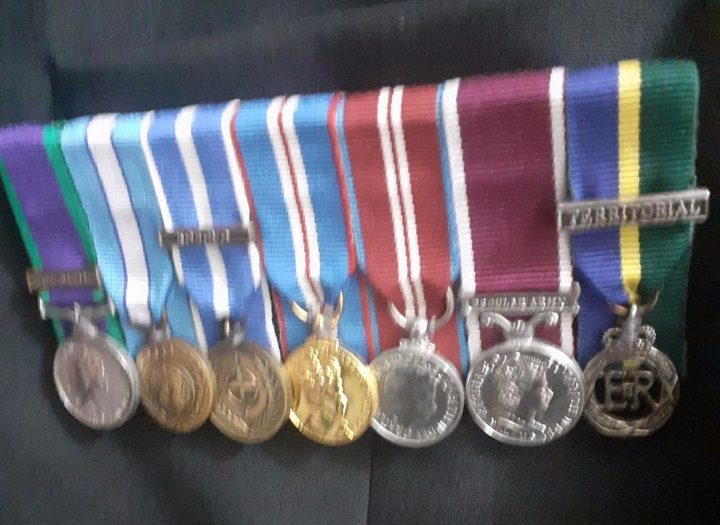 A picture of the medals released by police Pic: Preston Police