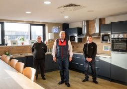 Recycling Lives Charity new kitchen