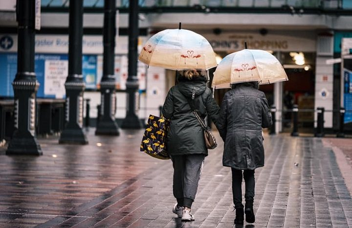 A rainy Sunday in Preston Pic: Paul Melling