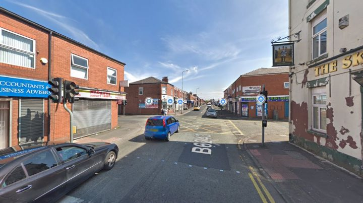 United Utilities has crews at the junction of Skeffington Road and Ribbleton Lane Pic: Google