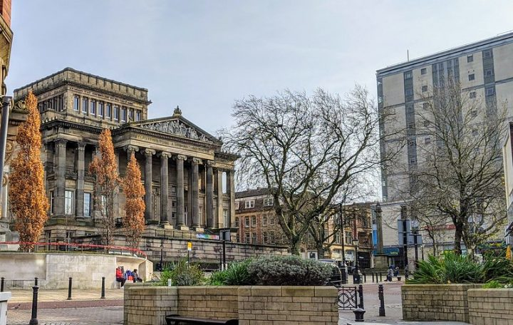 Harris Museum and Art Gallery in Preston city centre Pic: Tony Worrall