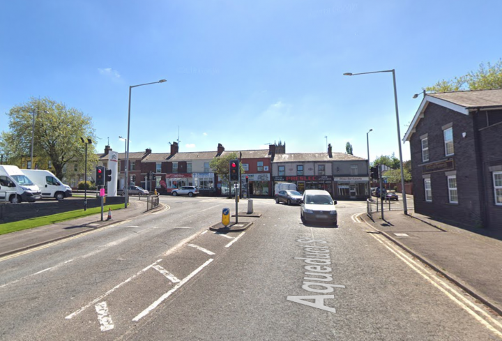 Aqueduct Street and Fylde Road junction Pic: Google